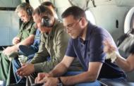 Главы Минприроды России, МЧС и губернатор ХМАО облетели территории, охваченные природными пожарами