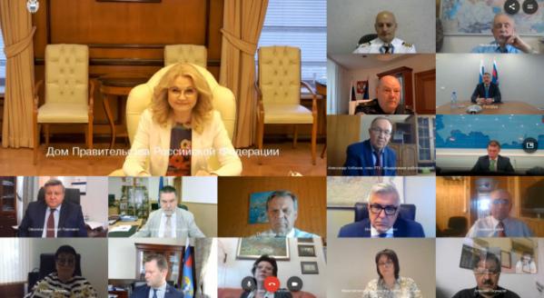 Татьяна Голикова провела заседание Российской трёхсторонней комиссии по регулированию социально-трудовых отношений