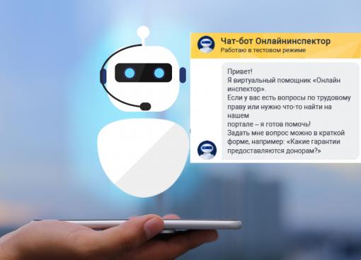 Узнать о соблюдении ТК на предприятии и пообщаться с виртуальным помощником можно на «Онлайнинспекция.рф»
